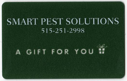 Smart Pest Solutions Gift Card